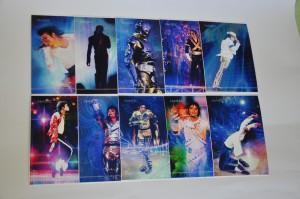 открытки с Майклом Джексоном