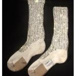 Носки с кристаллами Майкла Джексона
