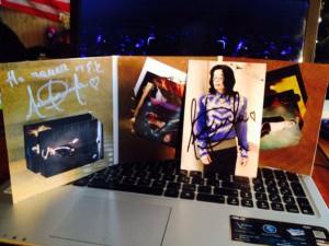 карточки с Майклом Джексоном